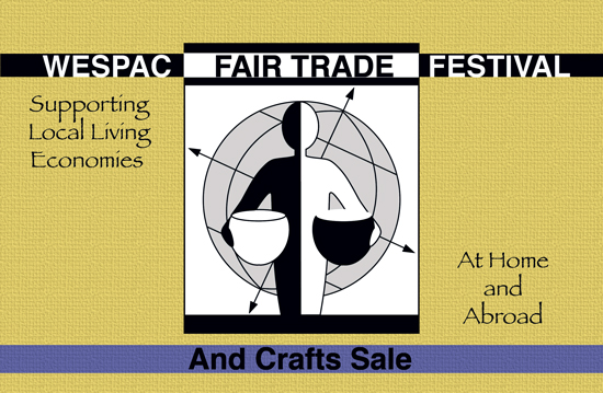 WESPAC FAIR TRADE FESTIVAL & CRAFTS FAIR 2008, Dec 6th