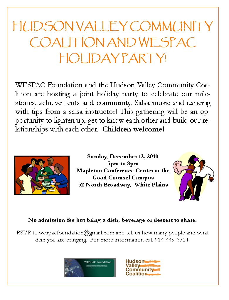 HVCC and WESPAC Holiday Party!