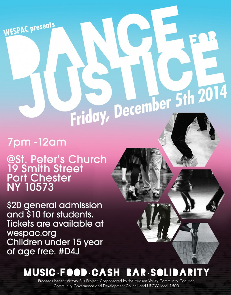 Dance For Justice Poster Flyer