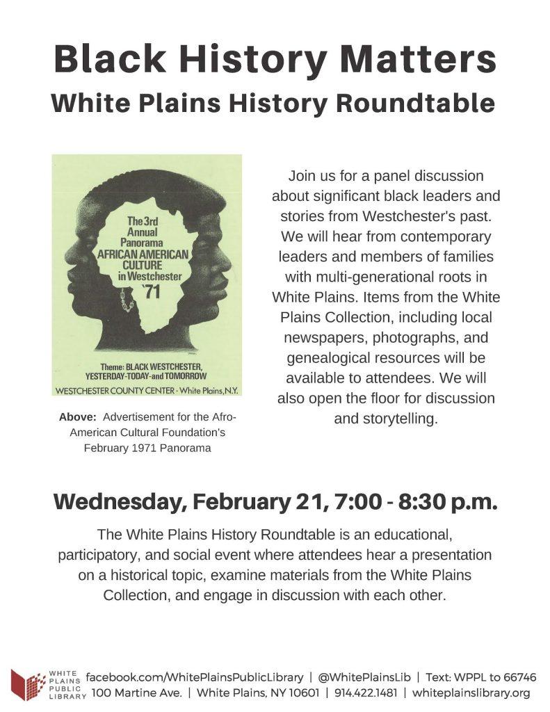 Black History Matters – WESPAC Foundation